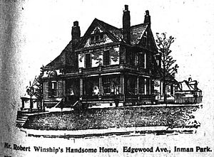 Inman Park - Robert Winship home, 1896