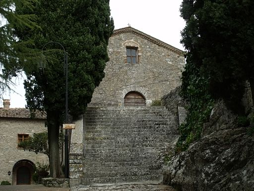 Chiesa San Simone, Rocca d'Orcia