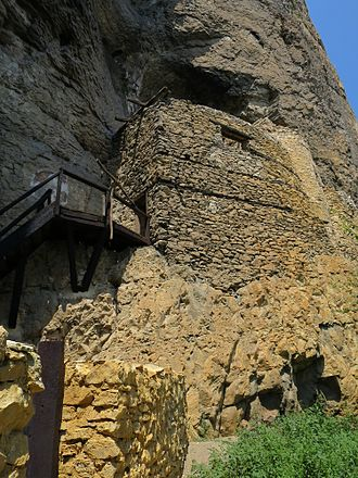 Petrevene - The rock monastery of St. Nikolai (Gligora) near Karlukovo, 14th century