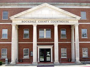 Conyers, Georgia - Rockdale County Courthouse