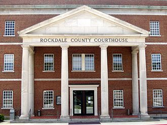 Rockdale County, Georgia - Image: Rockdale county courthouse