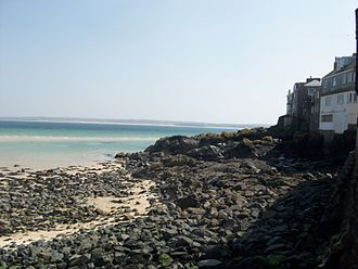 St Ives, Cornwall - Rocky landscape