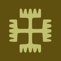 Rodnovery SYMBOL yellowish brown.png