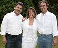 Rogelio Zapata, Rosa Acevedo, Sergio Fajardo Campaña 2011.jpg