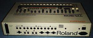 Roland TR-909 - Roland TR-909 rear view