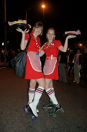 Carhop - Traditional carhop costume