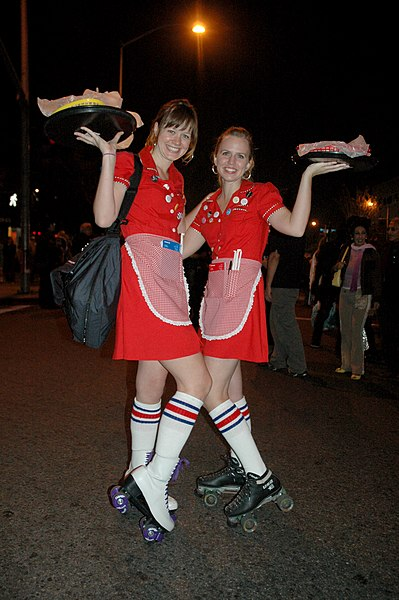 File:Rollerskate girls in carhop costume 3151469699 fd2d68eb12 z.jpg