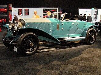 Jarvis of Wimbledon - Rolls-Royce Phantom I with torpedo style bodywork by Jarvis