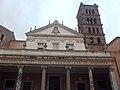 Roma, Basilica di Santa Cecilia, facciata, detail.jpg