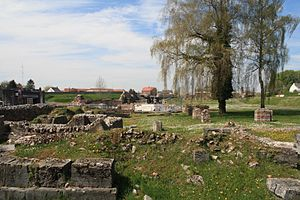 Bavay - Roman ruins in Bavay (Bagacum)