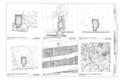 Room Entrances, Room 2.1 Reflected Ceiling Detail, and Finger Marks in Mod on Front Wall, Room 303 - Montezuma Castle, Off I-17, Camp Verde, Yavapai County, AZ HABS ARIZ,13-CAMV.V,1- (sheet 19 of 20).png