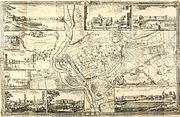 Roque's Map of Exeter 1744