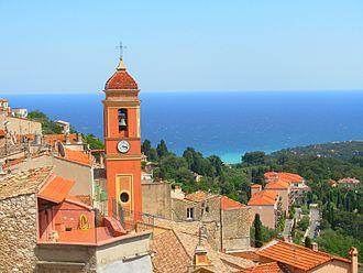 Canton of Menton - View of Roquebrune-Cap-Martin