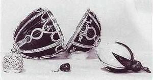 Rosebud (Fabergé egg) - The Rosebud egg with the lost surprises