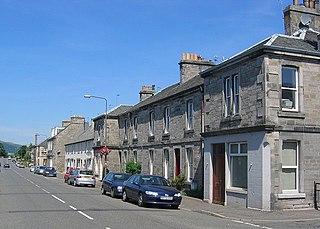 Roslin, Midlothian village in Midlothian, Scotland, UK