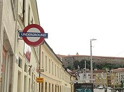 Roundel in Bratislava, Slovakia taken by Nuria (5718325566).jpg