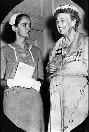 Roxcy Bolton - Roxcy Bolton with Eleanor Roosevelt after Roosevelts address at the Democratic National Convention in 1956.
