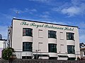 Royal Britannia Hotel, Ilfracombe, from the harbour beach.jpg