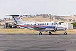 Royal Flying Doctor Service (VH-MSZ) Beechcraft Super King Air B200C at Wagga Wagga Airport.jpg
