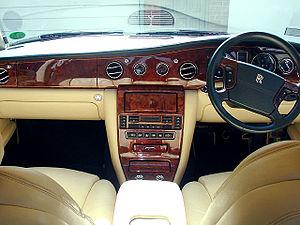 Rolls-Royce Silver Seraph - Interior