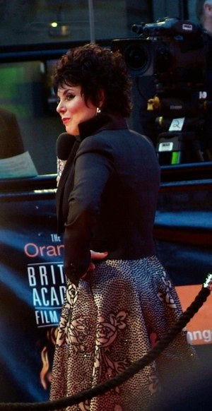 Ruby Wax - Wax at the 2007 BAFTA awards