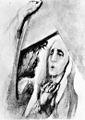 Rudolf Heinisch, Kreuzweg - IV. Christus begegnet seiner Mutter, 1945.jpeg