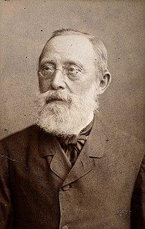 Rudolf Ludwig Karl Virchow. Photograph by J. C. Schaarwächte Wellcome V0027292.jpg