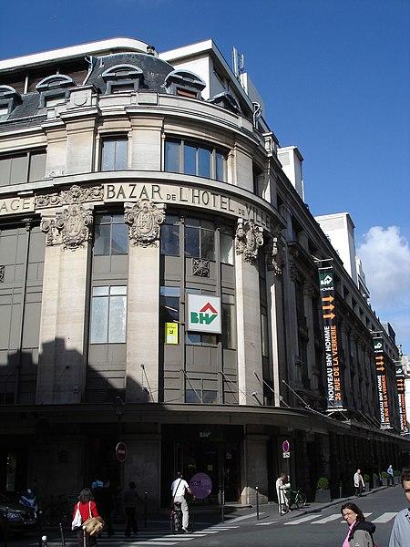 Paris le bazar de l 39 h tel de ville paris ma ville - Magasin bricolage montparnasse ...