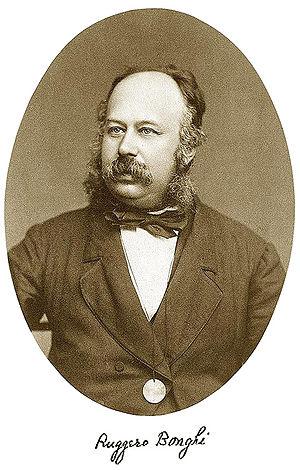 Ruggero Bonghi - Ruggero Bonghi, ca. 1875