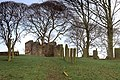 Ruined Chapel and graves near Heath - geograph.org.uk - 670798.jpg