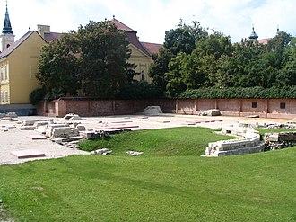 Székesfehérvár Basilica - Ruins of the basilica