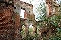 Ruins of Mukherjee family mansion on the background.jpg