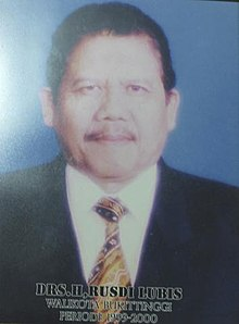 Rusdi Lubis, Mayor of Bukittinggi, 1999—2000.jpg