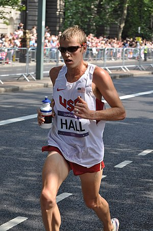 Ryan Hall (runner) - Ryan Hall - 2012 Olympic Marathon