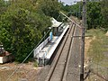 Rydalmere railway station, from Victoria Road.JPG