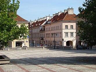 Mariensztat - Mariensztat Market Square