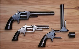 Smith & Wesson Model No. 2 Army - Image: S&W 32 RF tip up revolvers