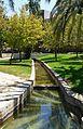 Séquia que ix després de l'assut de Rovella, jardí del Túria.JPG