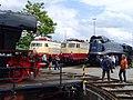 Süddeutsches Eisenbahnmuseum Heilbronn - Schnellzugloktreffen 048 - Flickr - KlausNahr.jpg