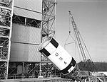 S-IVB-D arrives for testing