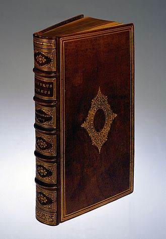 Anthropodermic bibliopegy - A book in the Wellcome Library bound in human skin.