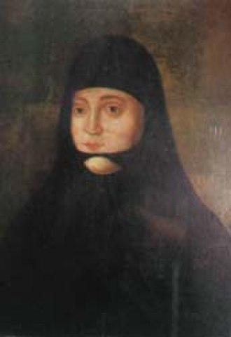 Solomonia Saburova - Sister Sofia in Intercession Monastery, 19th century