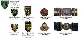 Cape Corps - SADF era SA Corps Battalions insignia