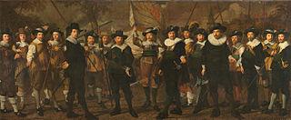 Schutters van de compagnie van kapitein Jacob Rogh en luitenant Anthonie de Lange