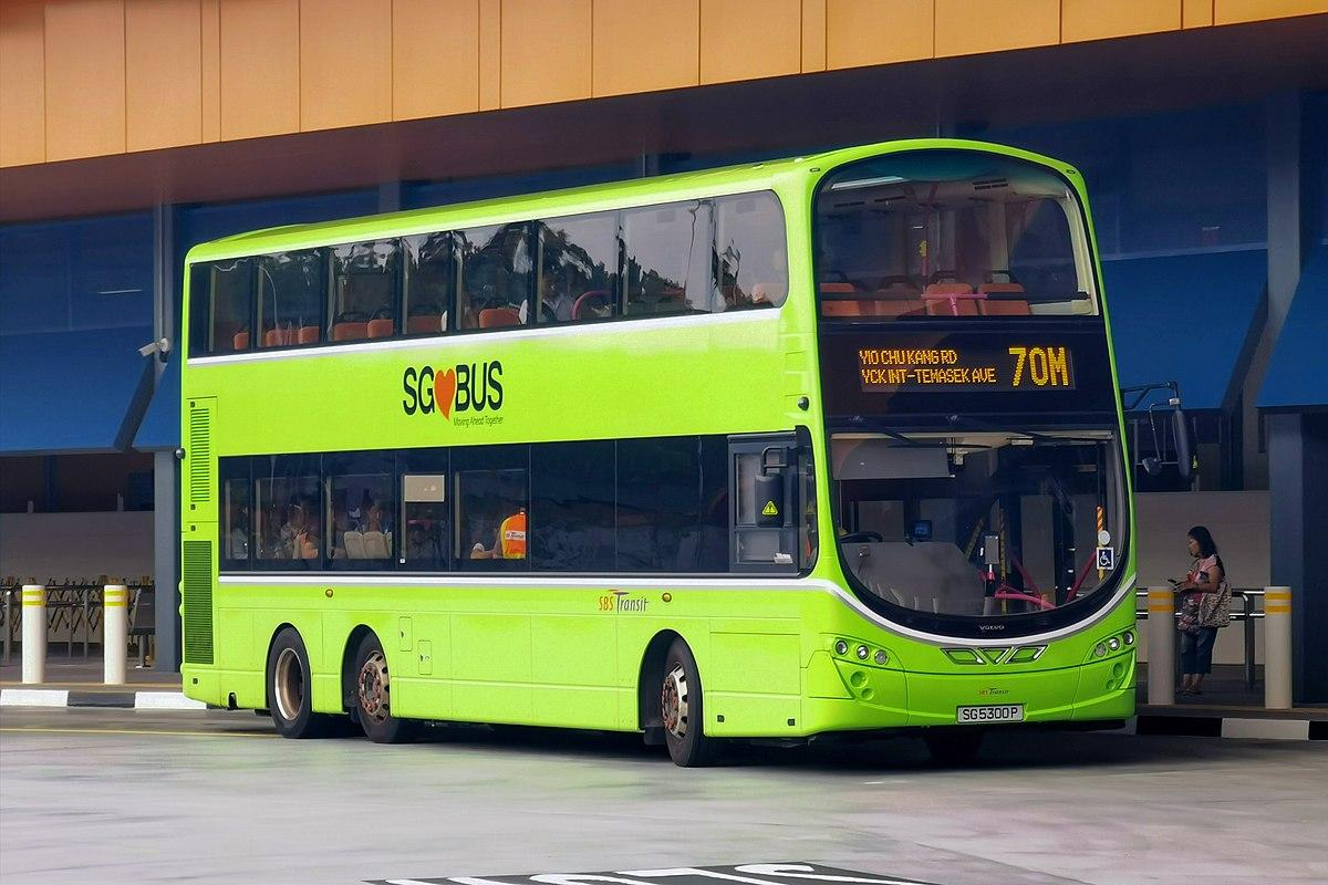 Public Buses Of Singapore Wikipedia