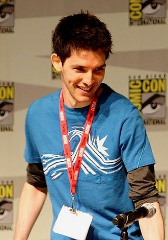 Colin Morgan - Colin Morgan promoting BBC TV series Merlin at the 2010 San Diego Comic-Con International