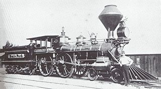 First railroad to link San Francisco and San Jose, California (1863-1870)
