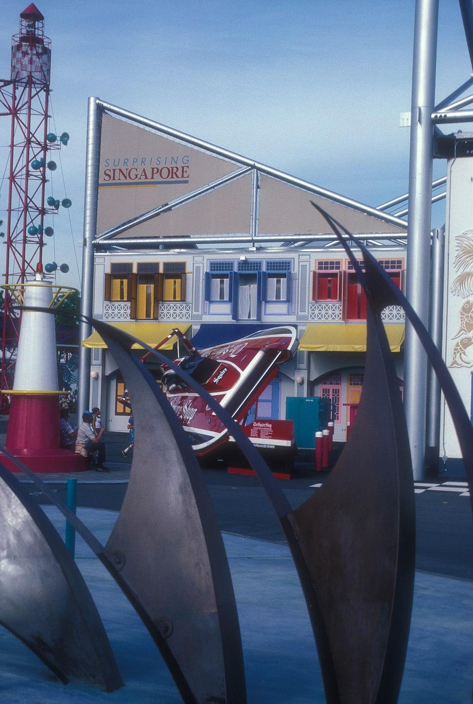 SINGAPORE PAVILION AT EXPO 86, VANCOUVER, B.C.