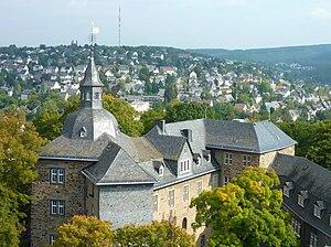 Nassau-Siegen - Siegen, Upper Castle