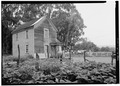 SOUTHWEST SIDE AND SOUTHEAST FRONT - Isaac Graham House, Cabrillo Highway, Pescadero, San Mateo County, CA HABS CAL,41-PESC,4-2.tif